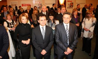 Četvrti rođendan Ekonometra i Magazina Biznis, februar 2010. godine