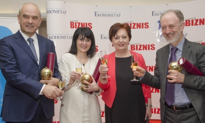 Deseti rođendan Ekonometra i Magazina Biznis, februar 2016. godine