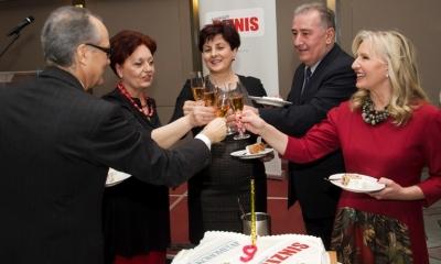 Deveti rođendan Ekonometra i Magazina Biznis, februar 2015. godine