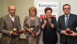 Dobitnici priznanja Planeta Biznis za 2012. godinu