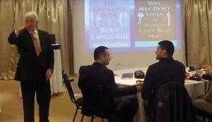 Alan Piz na seminaru u Beogradu
