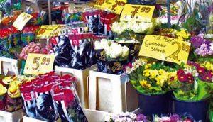 Ulična cvećara u Esenu