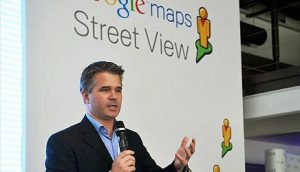 Ulf Špicer na prezentaciji projekta Google Street View u Beogradu