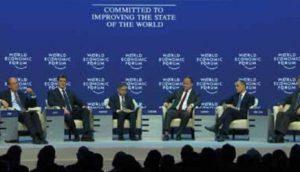 Sa jednog od panela na ovogodišnjem Davosu