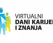 Sajam zapošljavanja Virtuelni dani karijere i znanja