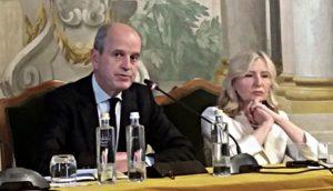 Игнасио Жакото и Драгиња Ђурић на састанку у Фиренци