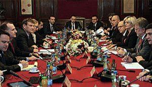 Sa jednog od sastanaka predstavnika MMF i NBS u centralnoj banci Srbije