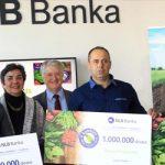 Nagrađeni pobednici NLB organik konkursa