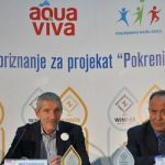 """Dva priznanja za program Aqua Viva """"Pokrenimo našu decu"""""""