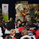 Sberbanka novogodišnje druženje sa decom iz hraniteljskih porodica