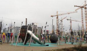 Grad u izgradnji, ali su dečja igrališta i obdaništa već uređena