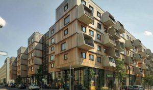 Grad čini puno manjih blokova koji su različito uređeni