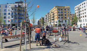 Aspern – raj za bicikliste i decu