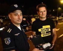 Apatinska pivara Upravi saobraćajne policije donirala alkometre