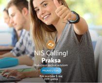 Novi program studentske prakse u NIS-u
