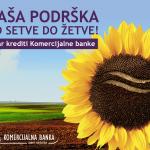 Komercijalna odobrava subvencionisane kredite za poljoprivredu