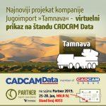Namenska rešenja, virtuelna realnost u prikazivanju proizvoda i digitalna transformacija u vojnoj industriji na štandu CADCAM Data na Sajmu naoružanja  i vojne opreme u Beogradu