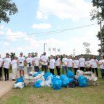 Zaposleni kompanije Nestlé očistili deo savske obale