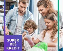 Da se kockice slože – Sberbank Super keš kredit