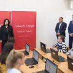Telekom Srbija opremio još 20 informatičkih kabineta u školama u Srbiji