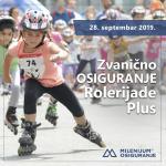 Milenijum zvanično osiguranje Rolerijade Plus