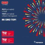Kompanija PEPSICO Zapadni Balkan i ove godine dobitnik Top Employer priznanja