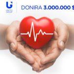 United Grupa pomaže zemljama u regionu sa 3 miliona dolara, Srbiji namenjeno million