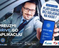 Beskontaktno plaćanje uz Drive.Go mobilnu aplikaciju na NIS Petrol i GAZPROM benzinskim stanicama