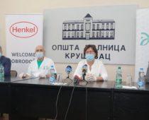Donacija Henkela i Fondacije Đoković bolnici u Kruševcu