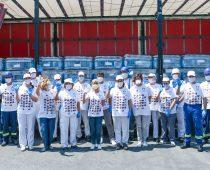 POMOĆ UGROŽENIM OPŠTINAMA U SRBIJI: NIS donira 33 hilјade litara pijaće vode Ivanjici i Blacu