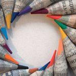ОРИГИНАЛАН И ЈЕДИНСТВЕН ПРОИЗВОД У ЕВРОПИ: Графитно срце сместили у старе новине