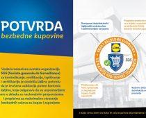 Priznanje kao potvrda bezbedne kupovine u Lidlu